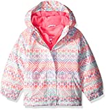 The Children's Place Baby Girls' 3-in-1 Printed Jacket, Simplywht, 18-24MONTH
