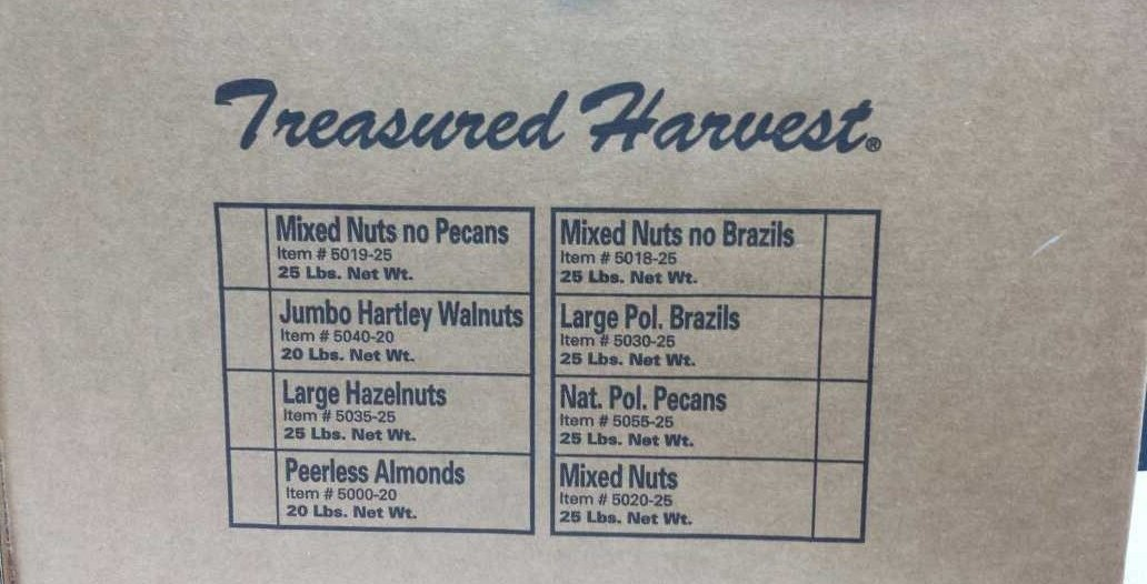 In Shell Brazils - 25 lb. by Treasured Harvest (Image #4)