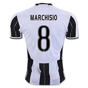 9843338d4 Juventus FC 8 Claudio Marchisio Football Soccer Jersey New Season Sportwear  Home Kit 2016 2017 In