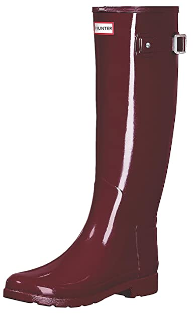 Hunter Women Original Refined Gloss WFT1071RGL SCT Stiefel Rot
