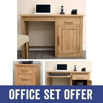 Astounding Arden Solid Oak Furniture Small Desk And Filing Cabinet Download Free Architecture Designs Pendunizatbritishbridgeorg