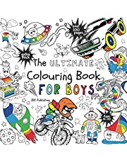 The Ultimate Colouring Book for Boys