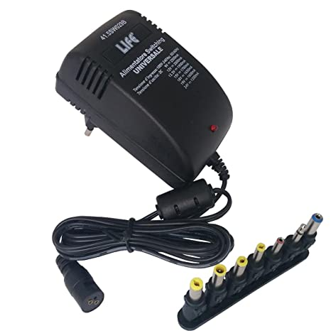 Alimentador conmutador universal 9 12 13,5 15 18 19 24 volts 2,5 ...
