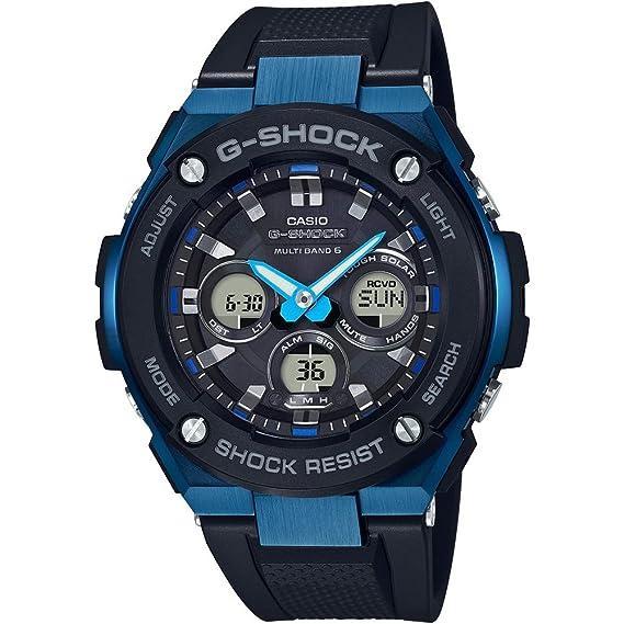CASIO Reloj Hombre de Digital con Correa en Resina GST-W300G-1A2ER G: Amazon.es: Relojes