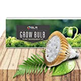 SLR Lighting LED Grow Light Bulb for Plants Indoor Lamp, Gardens, Closets, Greenhouses, Vegetables, Herbs, & Flowers with BioGlow 620-660nm Red & 430-440nm Blue LEDs for Hydroponics and Horticulture