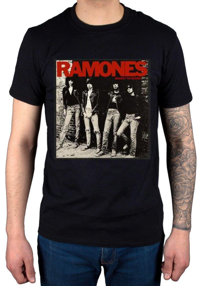 S Ramones Rocket To Russia Tshirt Punk Rock Band Johnny Joey