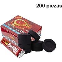 PAIDE - Discos de carbón para quemador, incienso