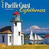 Pacific Coast Lighthouses 2016 Square 12x12 Wall Calendar