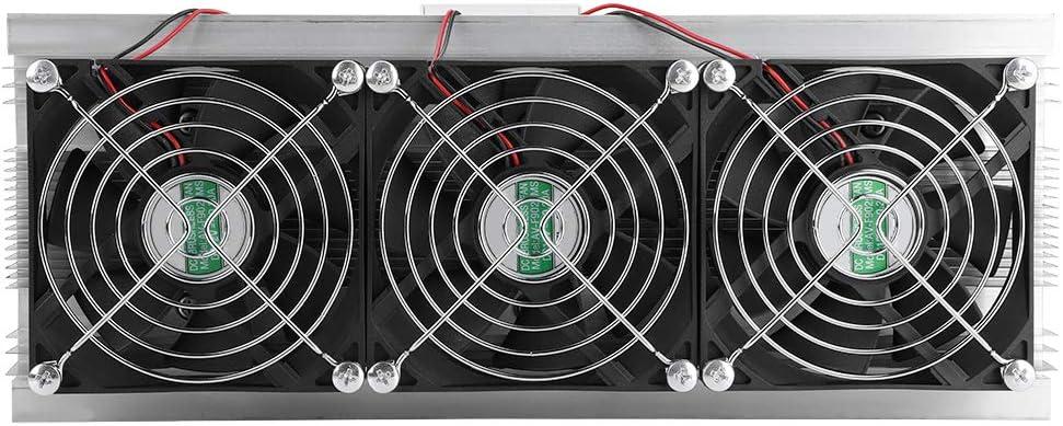 Meiyya Thermoelectric Cooler,Semiconductor Refrigeration Cooling Device Thermoelectric Cooler 20A 12V DIY Mini Fridge