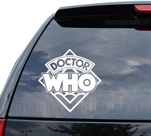 Window Wall Doctor Who Logo Vinyl Decal Sticker Car Laptop