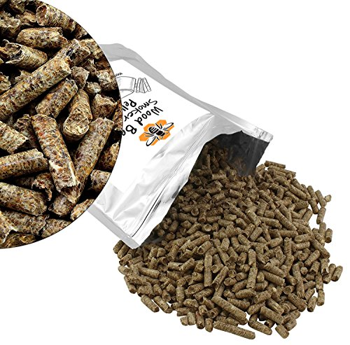 Wood Bee Smoker Fuel Pellets (2lb. bag); 100% Hardwood ...