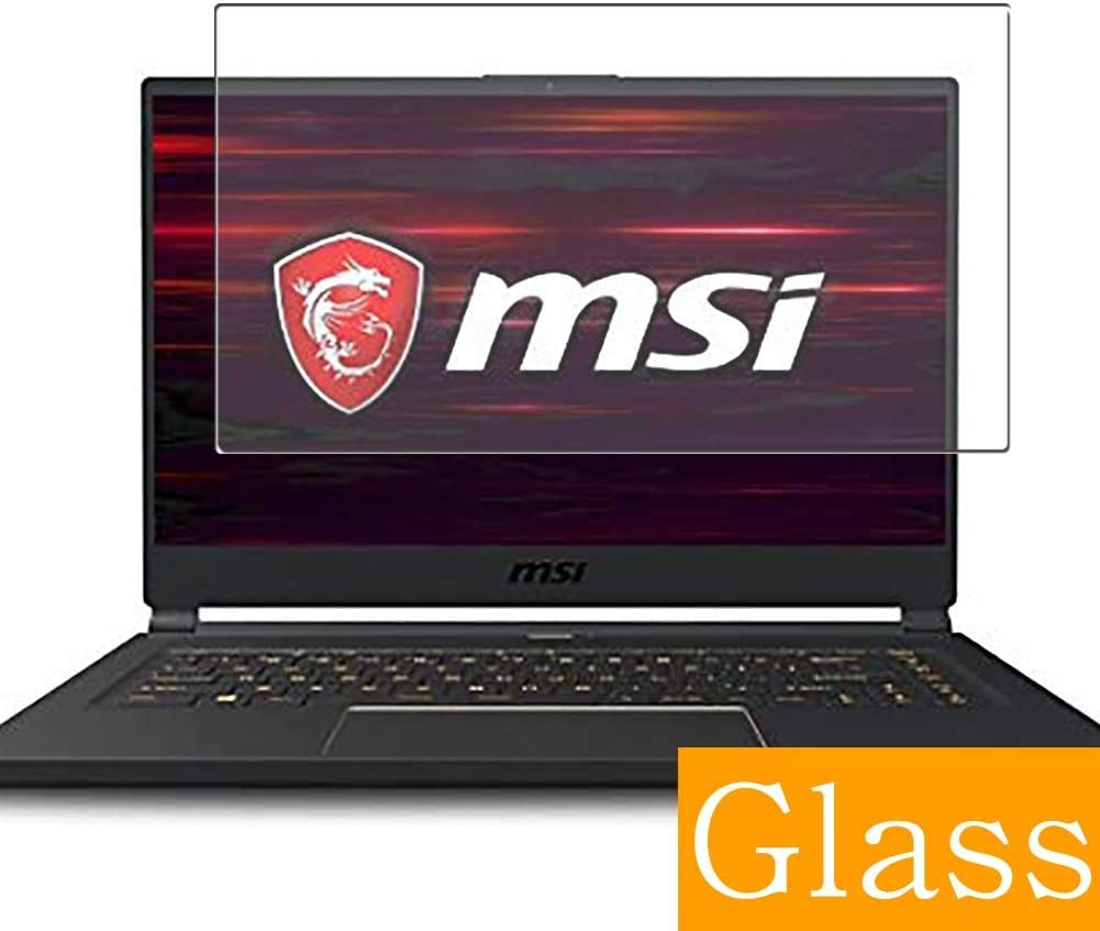 Synvy Tempered Glass Screen Protector for MSI GS65 Stealth GS65-9SF-469JP 2019 15.6