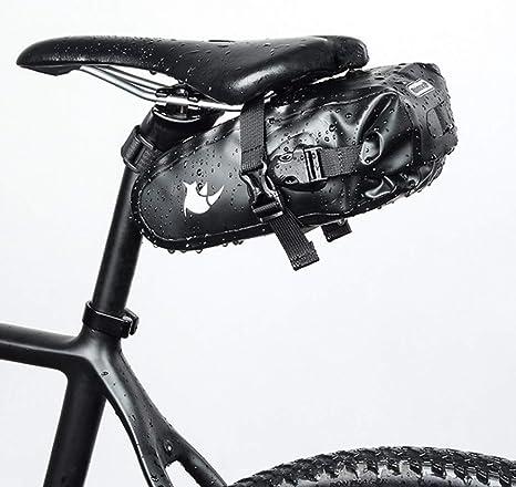 Bolsa De Sillín Impermeable Para Bicicleta Asiento bicicleta bolsa ...