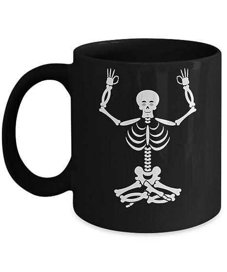 Amazon.com: Yoga Gift - Unique Coffee Mug for Yoga lover ...
