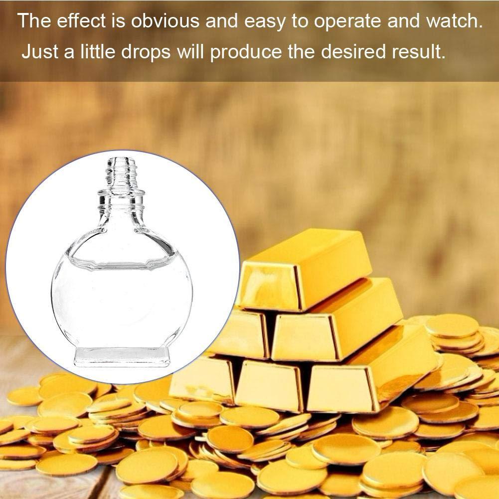 3ML Praktisches Gold und Silber Platin Testkit Schmuckpr/üfungSchmuck Tool Set zum Testen