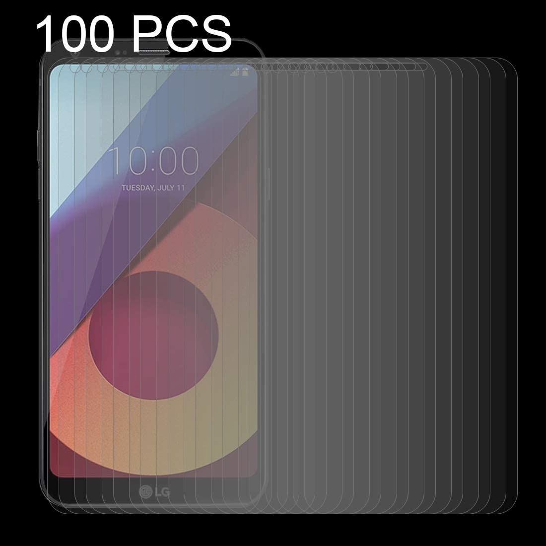 GUOSHU Premium Tempered Glass Screen Film 100 PCS for Asus Zenfone 3 0.26mm 9H Surface Hardness 2.5D Curved Edge Tempered Glass Screen Protector Anti-Scratch Screen Protector ZE520KL