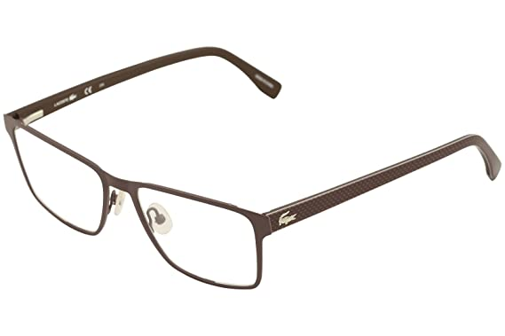 c12e1ff488d6 Lacoste L2205 Eyeglasses 210 Brown  Amazon.ca  Clothing   Accessories