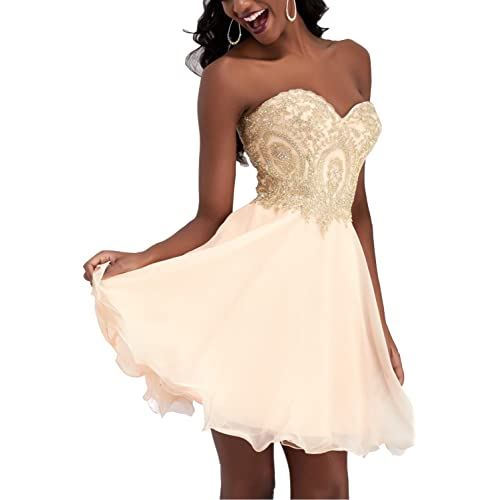 Gold Homecoming Dresses: Amazon.com