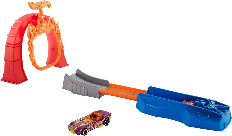 Hot Wheels Puente de llama, pista de coches de juguete (Mattel FTH81) , color/modelo surtido: Amazon.es: Juguetes y juegos
