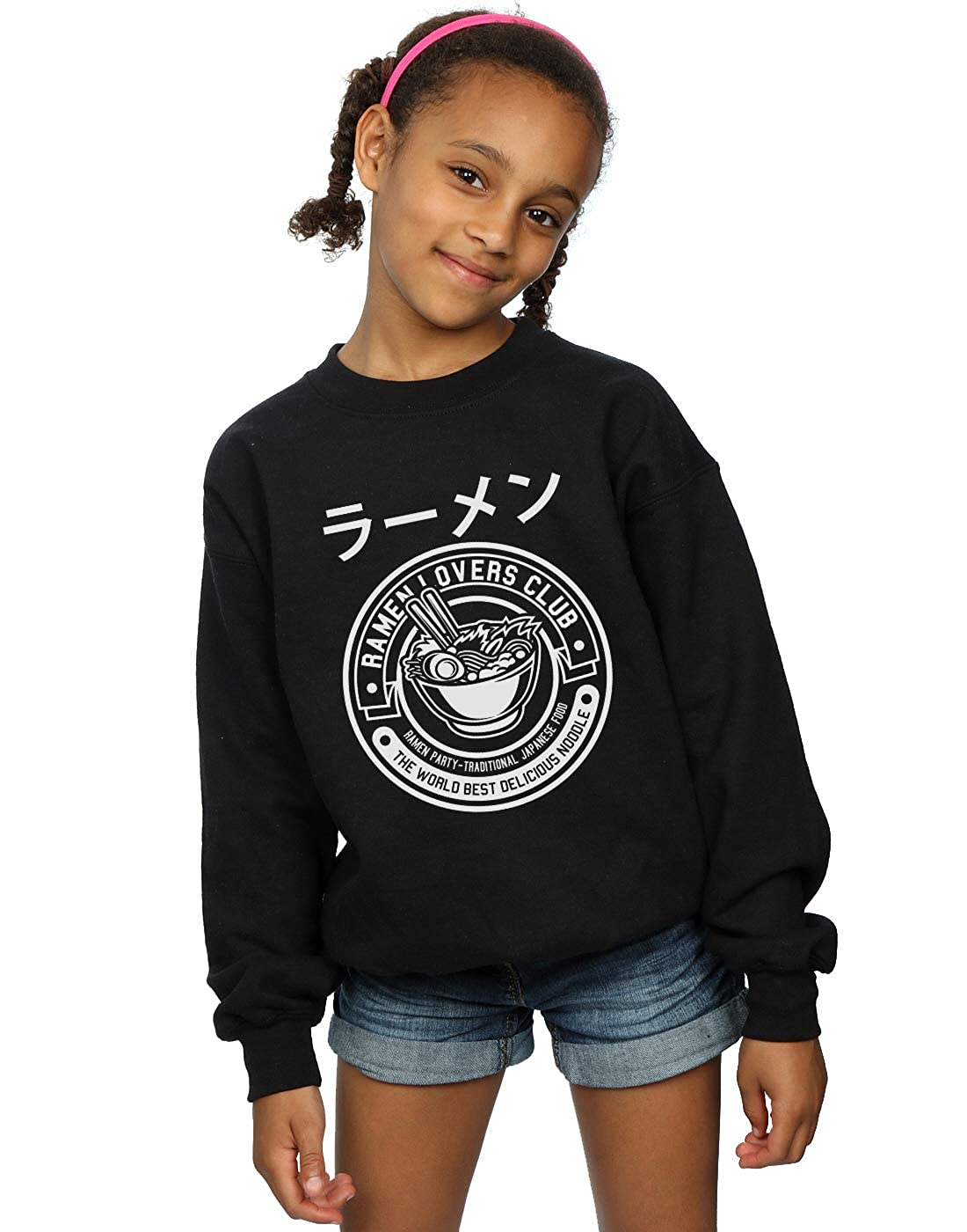 Absolute Cult Drewbacca Girls Ramen Lovers Sweatshirt