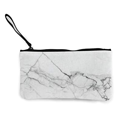 Amazon.com: White Marble - Bolsas de viaje para maquillaje ...