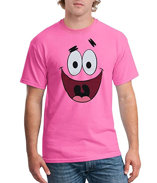 db2e7b2da48 Spongebob Squarepants Patrick Star Face T-Shirt