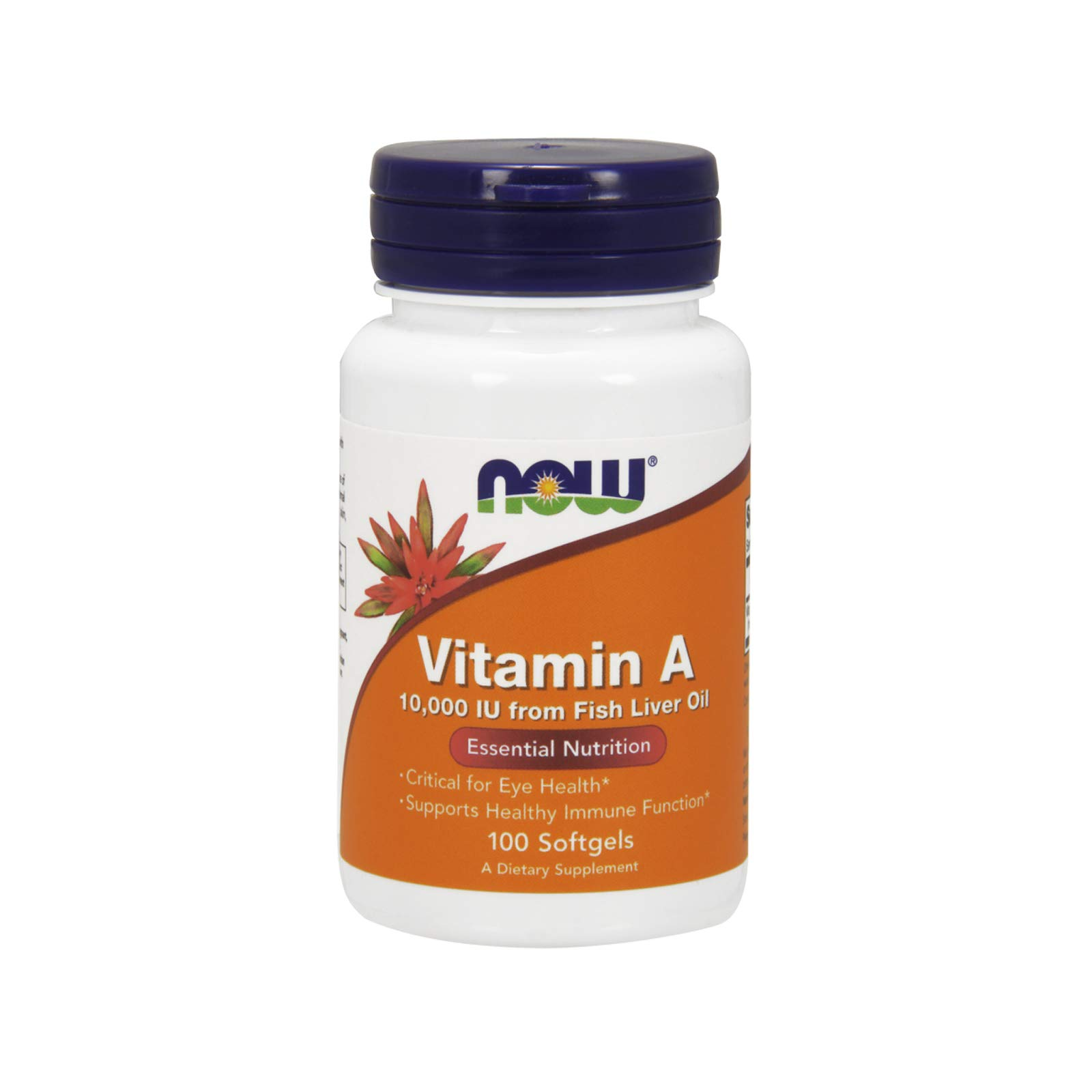 Now Foods Vitamin A 10,000 IU 100 Sgels