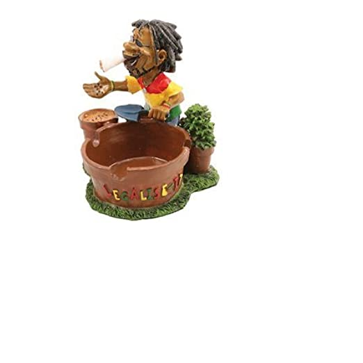LT116 Jamaican Man Ashtray