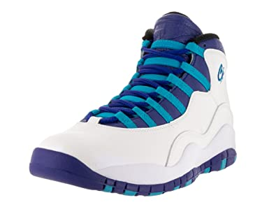 09c6f31180a383 Image Unavailable. Image not available for. Color  Nike Air Jordan Retro 10  Charlotte Men s Basketball Shoes ...