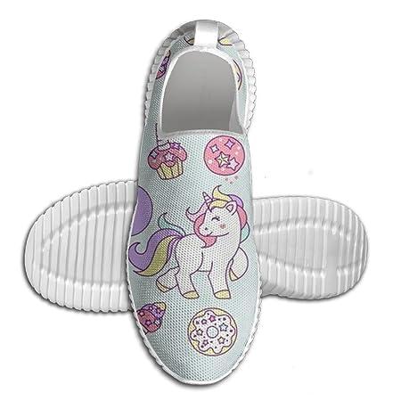 ORSWXZS Zapatillas de running ligeras, unicornio, sin corbata ...