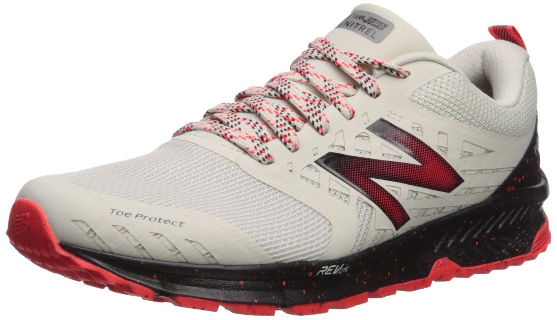 New Balance Men's Nitrel v1 FuelCore Trail Running Shoe, Moonbeam, 10.5 4E US