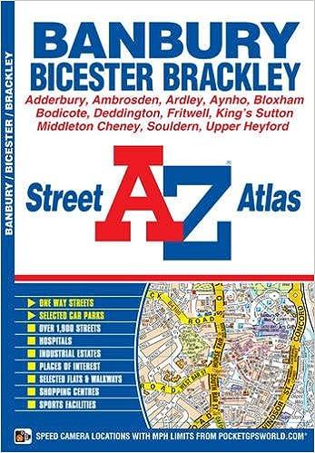 banbury street atlas a z street atlas amazoncouk geographers a z map company 9781843488125 books