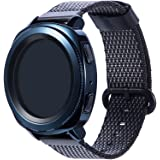 Gear Sport/S2 Classic Band,Cumeou Nylon Replacement Bands 20mm Quick Release Breathable Bracelet Strap for Samsung Gear S2 Classic SM-R732/Gear Sport/Garmin vivoactive3/vivomove HR/Huawei Watch2