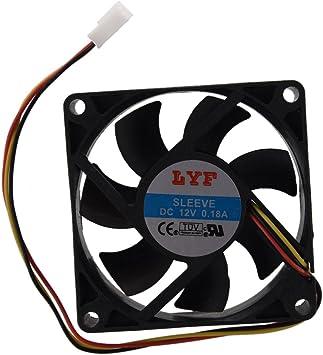 SODIAL(R) Ventilador de Refrigeracion Enfriador para PC Ordenador ...