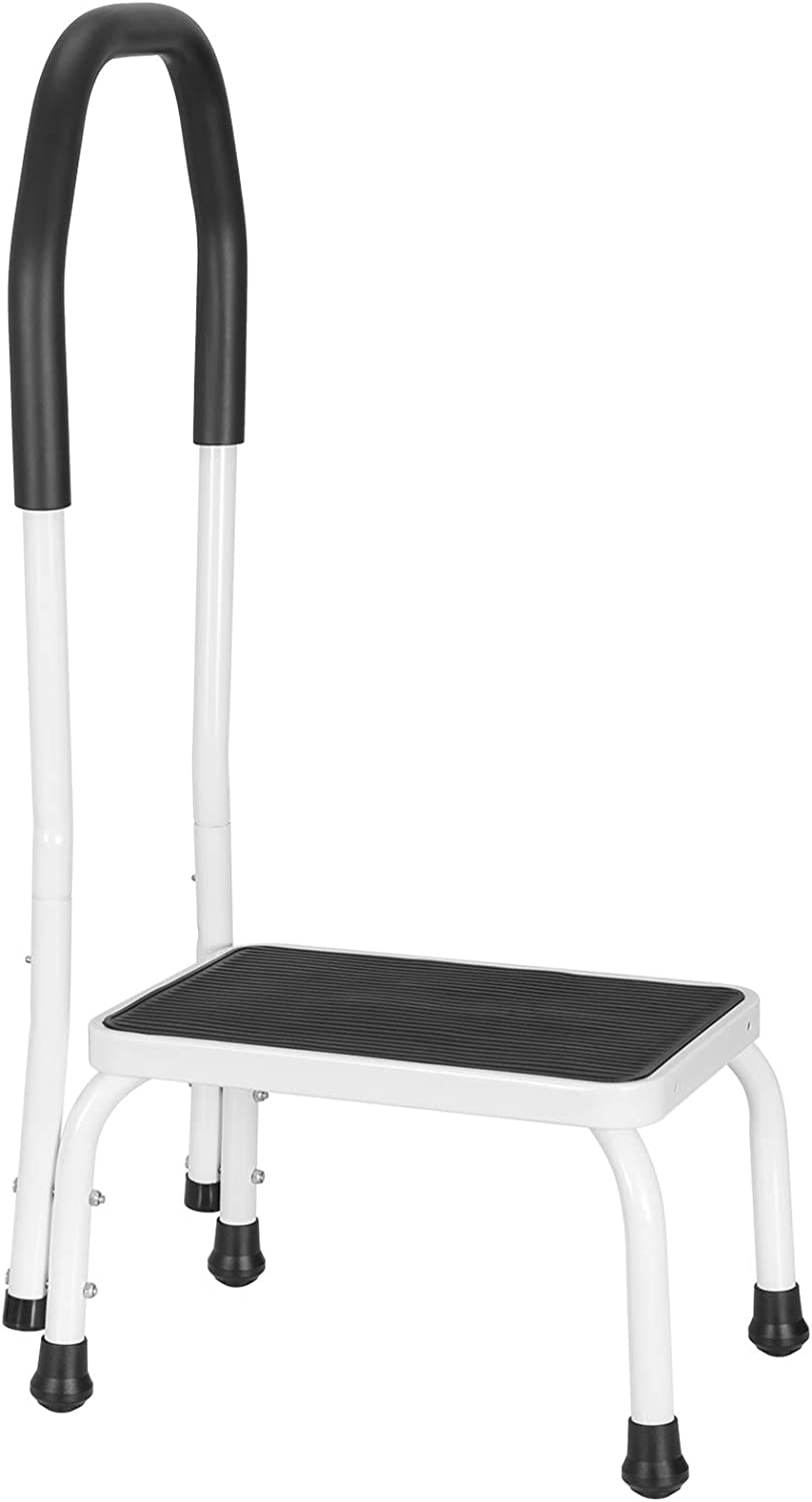 Ollieroo Step Stool with Handle for Adults and Seniors