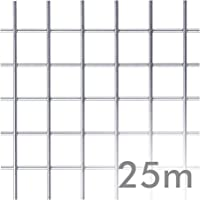 Malla electrosoldada INOXIDABLE 25 Mt - 16 x