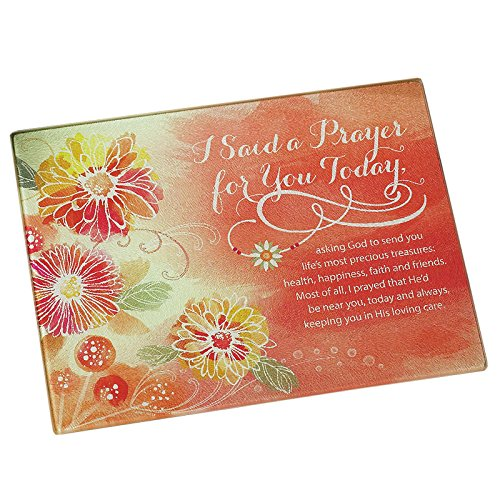 I Said a Prayer Mini Cutting Board by Abbey Gift