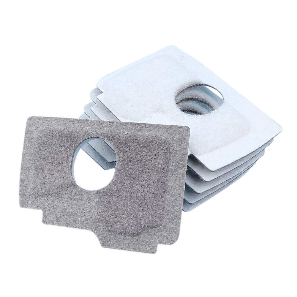 Lopbinte Luft Filter Reiniger Schaum Kit f/ür Ms170 Ms180 017 018 Ms 170 180 Kettens?ge 6 Teile//Los