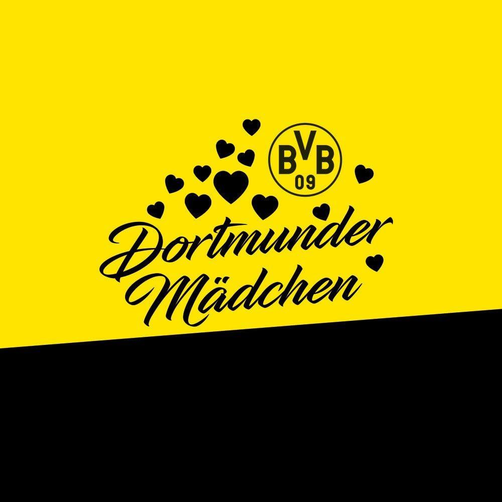 DeinDesign Silikon H/ülle kompatibel mit Samsung Galaxy S8 Case Schutzh/ülle BVB Borussia Dortmund Dortmunder M/ädchen