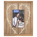 Better Homes and Gardens 4x6 Silk Heart Picture Frame