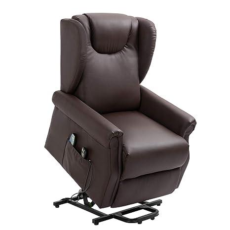 Amazon.com: Sillón reclinable acolchado de tela para sofá ...