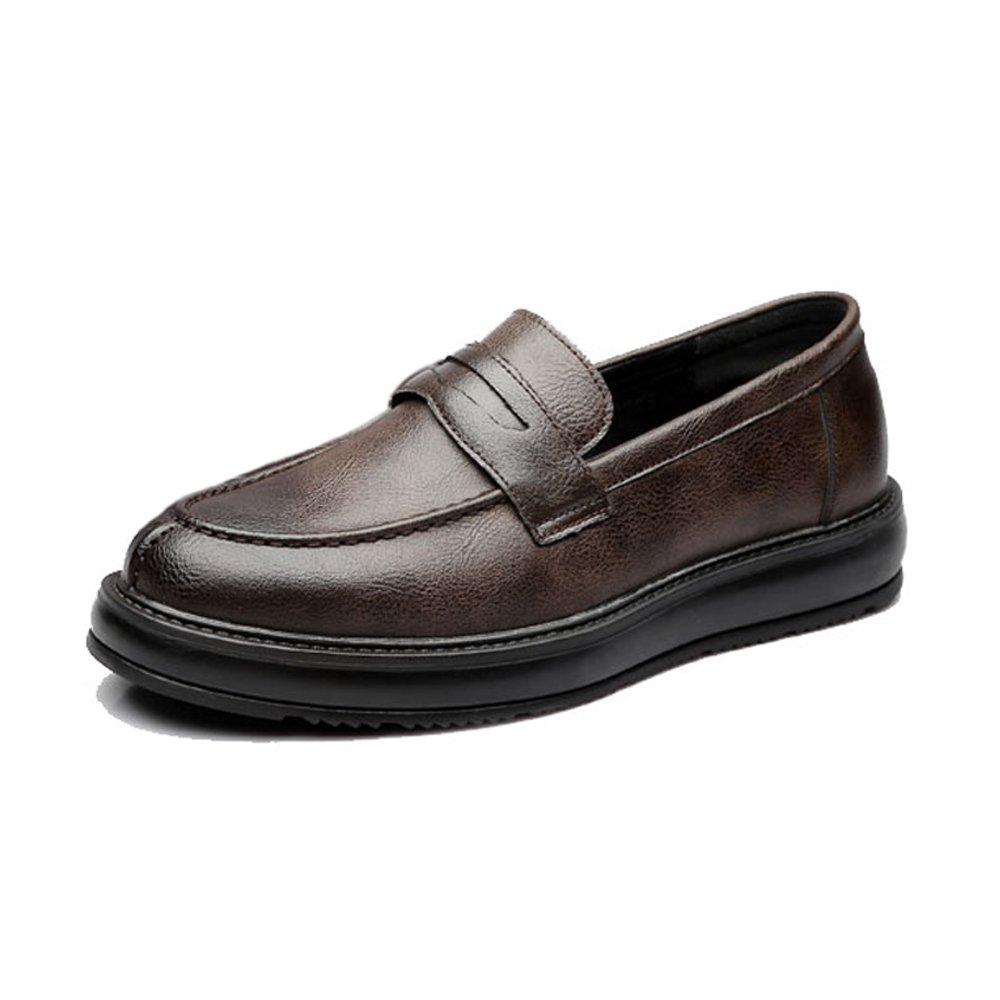 XIANGBAO-Persönlichkeitsfall Formale Geschäfts-Schuhe der einfachen Männer Klassische Klassische Beleg-auf Müßiggänger PU-lederne zufällige Outsole Oxfords  | Sale Online Shop