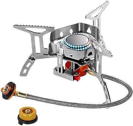WXLAA 3500W Hornillo de Gas portátil para hornillo, butano ...