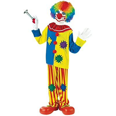 Fun World Big Top Clown Child Circus Costume: Toys & Games