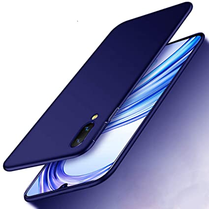 huge selection of 000ba ab23d Annure Slim Soft Back Cover Case for Vivo V11 Pro (Blue Matte)