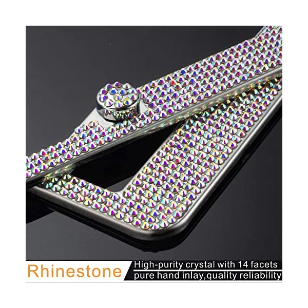 WomenLuxury-Rhinestone-Sparkling-License