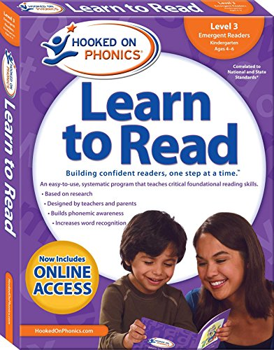 Hooked on Phonics Learn to Read - Level 3: Emergent Readers (Kindergarten | Ages 4-6) (3) (Hooked On Phonics Readers)
