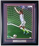 Alex Morgan USA Soccer Signed Framed 16x20 2015 World Cup Net Photo JSA