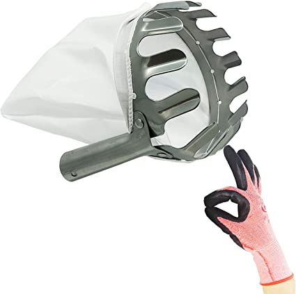 Fruit Picker Head Tool Fruit Catcher Device for Gardening Fruits Collection Pick