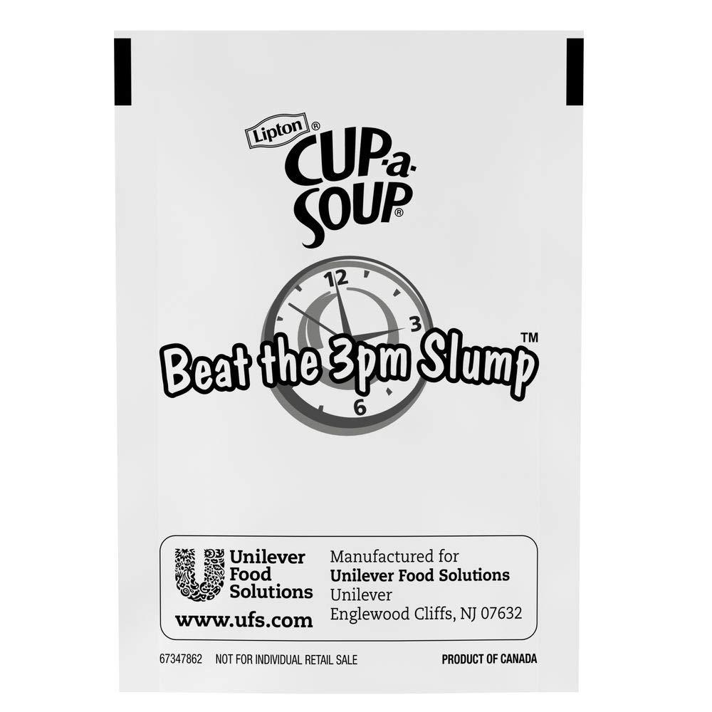 Lipton Cup-a-Soup Chicken Noodle Soup Mix 0g Trans Fat, 22 x 9.9 oz pouches, Pack of 4